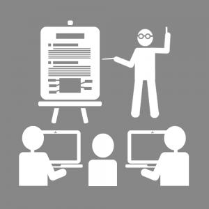 Icon web presentiel
