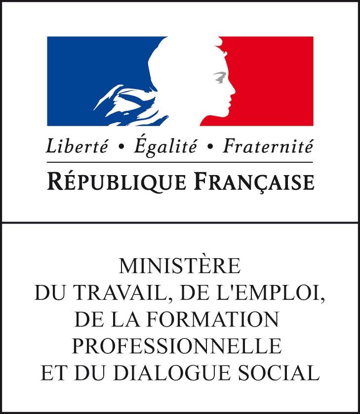Logo travail emploi formation dialogue2